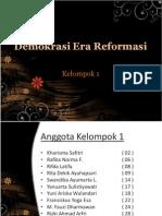 PPT PKn Kelas 11 Semester 1 Bab 2 Demokrasi Era Reformasi