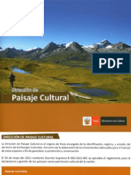 Paisaje Cultural PERU