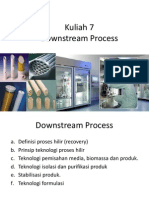 Lecture 7 Downstream Process