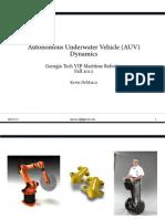 Auv Dynamics Presentation