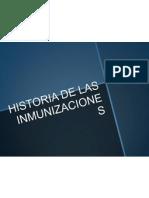 Historia de Las Inmunizaciones