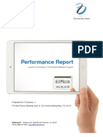 Retiremap Performance Report for Employers