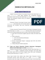 metodologi Konsultan Perencanaan