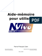 Aide Memoire NVivo
