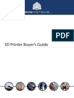 3D Printer Buyers Guide 2012