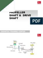 9.C. Propeller Shaft & Drive Shaft