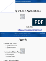 Pentesting iPhone Applications -PPT