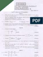 Engg Mathematics-2 Jan 2007 Old