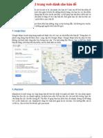 Top 22 trang web dành cho bản đồ