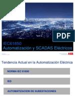 Automatización y SCADAS Eléctricos con  IEC61850