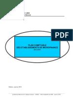 Plan Comptable Etablissements de Micro Finance Cobac