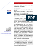 Aurélie Filippetti - Discours CSPLA du 23/10/2012