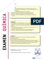 2 Examen Global de Quimica Organica 2012 Resuelto
