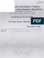 Pulse Density Modulation Pattern Optimization Using Genetic Algorithms (D. Pimentel IECON2006)