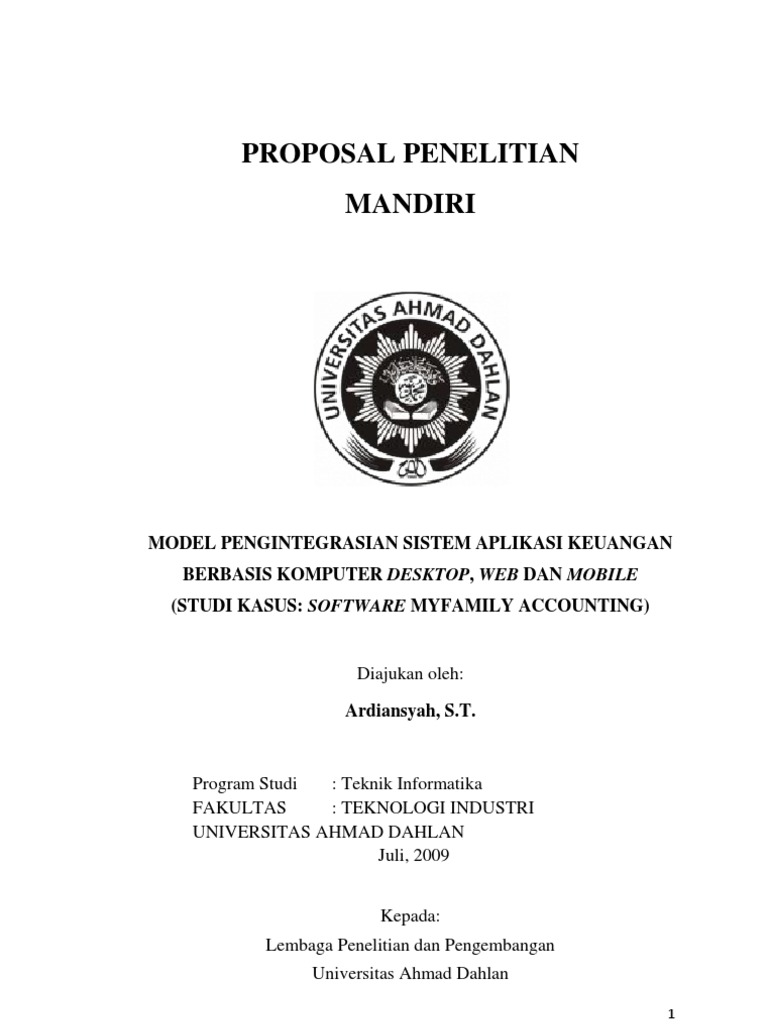 Contoh Proposal Metodologi Penelitian Ekonomi Akuntansi Pdf لم