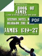 James Series Sermon Notes Wk 2 Sun Aug 19 2012