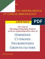 Citocinas Hormonas y Factores de Crecimiento.