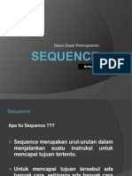 Materi DDP 2 - Sequence