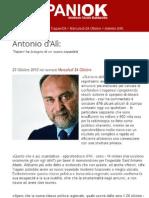 Senatore Antonio d'Alì - basta con gli sprechi nella sanità