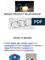 Brand Product Relation