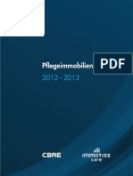 Pflegemarktreport 2012 immoTISS care_CBRE