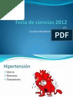 hipertension 5ºa luciano bonahora y olivia peyru