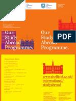 TUOS Study Abroad Brochure 2007
