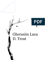 Gherasim Luca / D. Trost  --- Dijalektika dijalektike