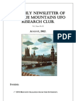 The Blue Mountains UFO Research Club Newsletter - August 2012