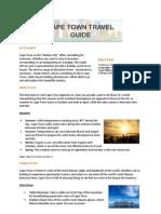 Hotels4U CapeTown Travel Guide
