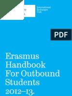 TUOS Outbound Erasmus 2012 Booklet