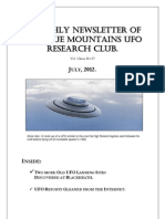 The Blue Mountains UFO Research Club Newsletter - July 2012