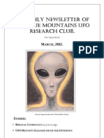 The Blue Mountains UFO Research Club Newsletter - March 2012