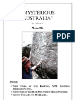 Mysterious Australia Newsletter - May 2012