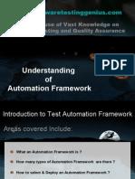 Understanding of Automation Framework
