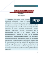 (revizuit) Paradigma Psihologica a Integrarii Copilului in Familia Substitutiva, (Psychological Paradigm of the Child Integration in Foster Family), Petru Stefaroi