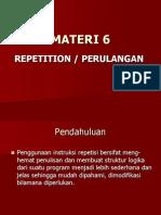 Materi 5a - Repetition-perulangan