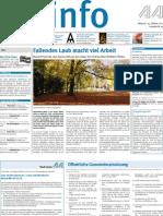 Stadtinfo Aalen - KW 43 - 2012