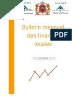 TGR Bulletin Mensuel des Finances Locales - Décembre 2011