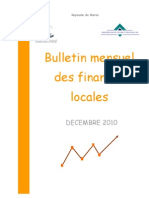 TGR Bulletin Mensuel des Finances Locales - Décembre 2010