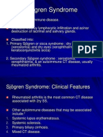 SJOGREN SYNDROME From the PP -Disease of Salivary Glands