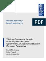 Vitalizing Democracy through E-participation