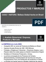 Caso Natura. G Prod & Marcas