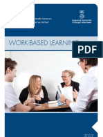 Work-Based Learning Prospectus 2012, College of Human and Health Sciences, Swansea University