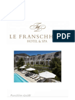 Le Franschhoek Weddings and Functions 2012