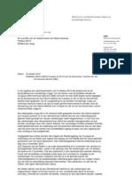 Kamerbrief Over Interim Kabinet en Gouverneur Van Curacao