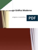 O Design Gráfico Moderno