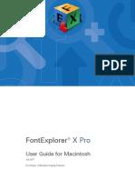 FontExplorer X Pro Mac