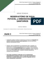 Aula _reservatorio e Sanitarios