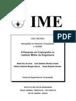 A Pesquisa Em Criptografia IME